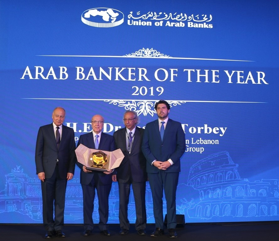 Dr. Joseph Torbey named Arab Banker of the Year for 2019