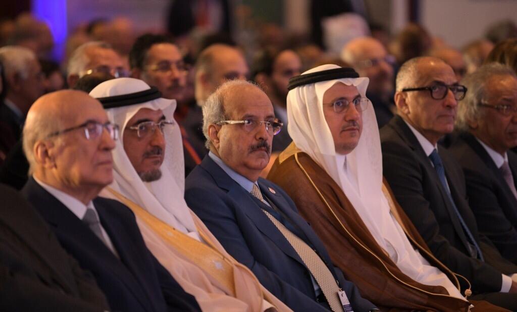 خلال افتتاح المؤتمر المصرفي العربـي السنوي، بعنوان إنعكاسات التقلبات السياسية على مسار العمل المصرفي