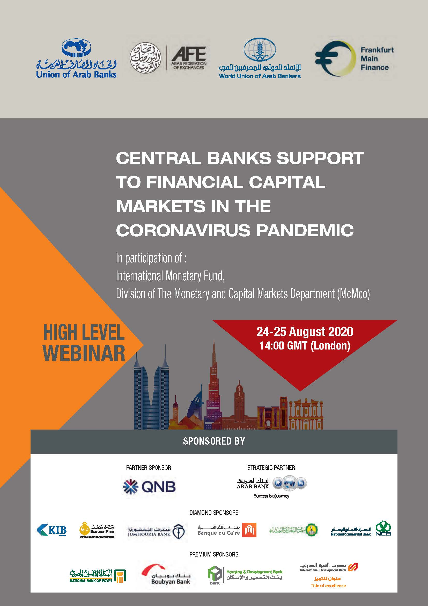 Central Banks Support to Financial Capital Markets in the Coronavirus Pandemic